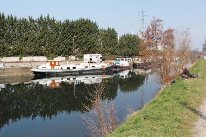 Le port de plaisance de Colmar