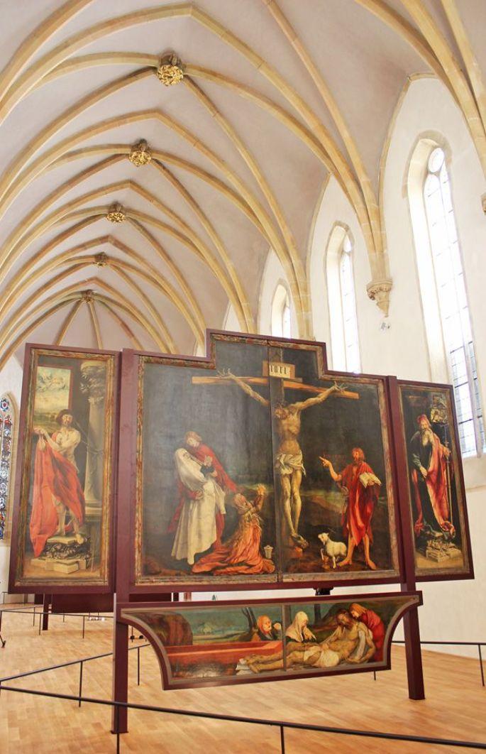 Le retable d'Issenheim en toute sobriété