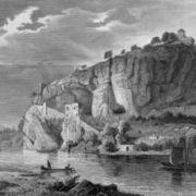 Le Rhin vu du rocher Istein