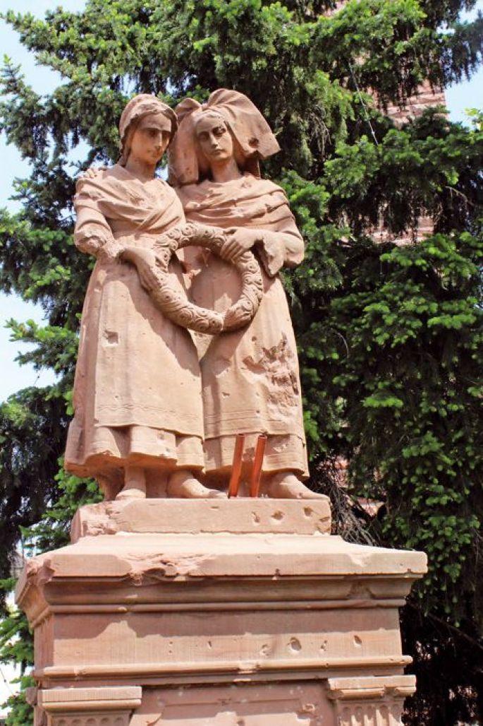 Le monument de la fidélité à Bennwihr