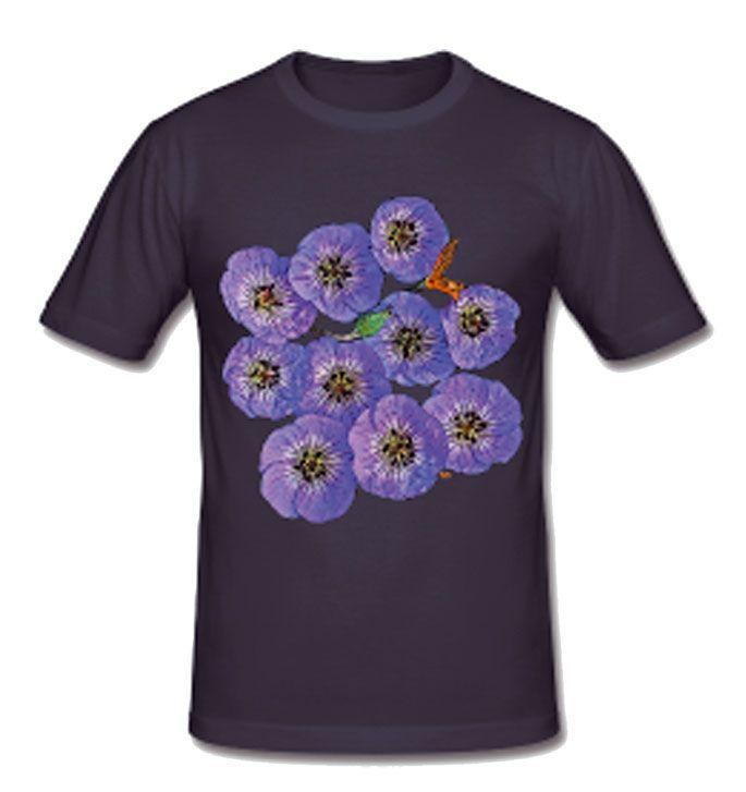 Le T-shirt géranium
