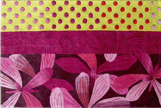 Le tapis fleuri