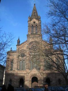 Le Temple Neuf de Strasbourg a été construit dans les années 1870