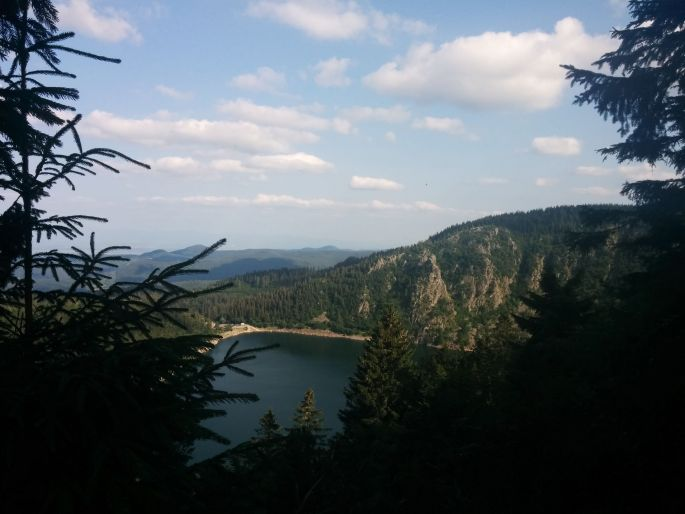 Le tour du lac Blanc