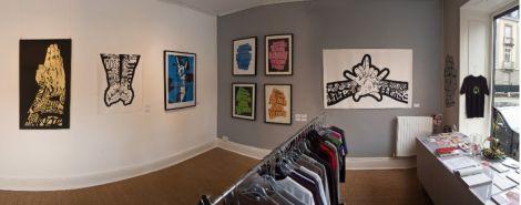 La galerie Le Truc expose de jeunes artistes de la région