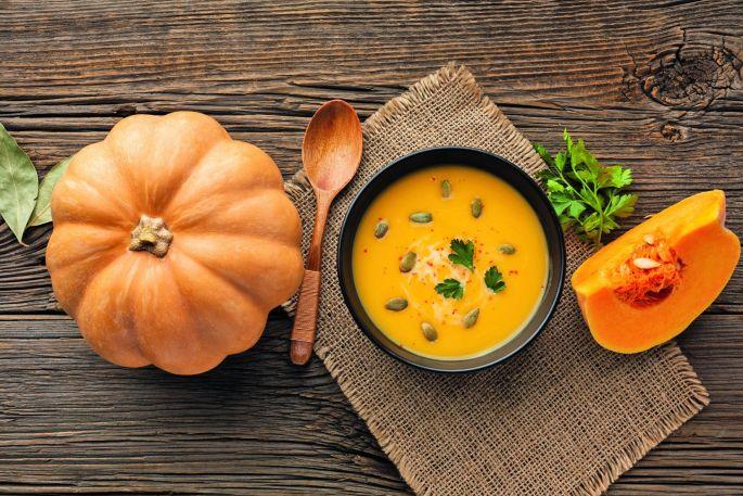 Miam, une soupe au potiron pour l\'automne!