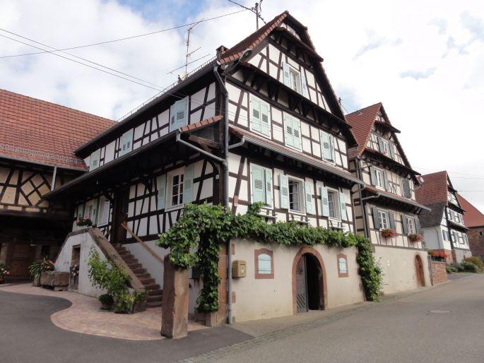 Lembach et ses maisons à colombages