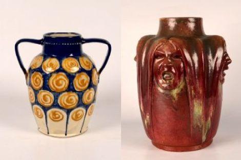 Des céramiques de Léon Elchinger