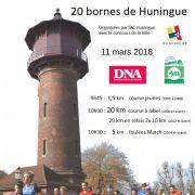 Les 20 bornes de Huningue