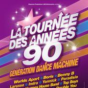 Foire aux Vins de Colmar le vendredi 12 août 2011 : Génération Dance Machine Années 90