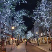 Noël 2020 dans les rues de Mulhouse
