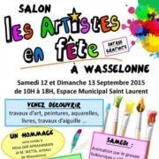 Les artistes en fête à Wasselonne