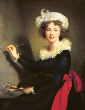 Autoportrait d\'Elisabeth Vigée-Lebrun