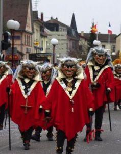 Les Carnavals 2013 en Alsace et environs