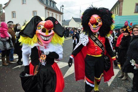 Mister Wackes d\'Alsace au défilé de Guewenheim