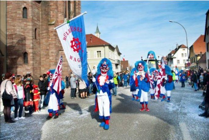 Les carnavals en Alsace dès janvier