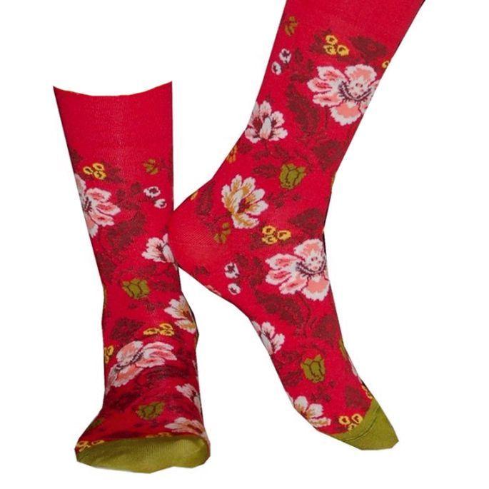 Les chaussettes géranium