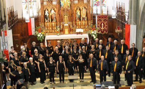 Les Choristes de Chorilla en 2015
