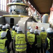 Visite et pique-nique électrique à la centrale hydroélectrique EDF