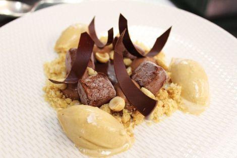 Un dessert très alléchant réalisé par Didier, le pâtissier de l\'Auberge St-Laurent à Sierentz