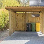 Les différents matériaux pour un carport