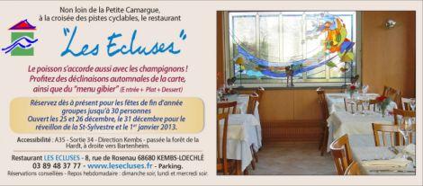 Restaurant les Ecluses
