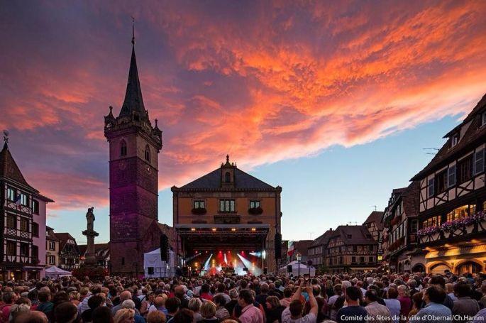 Il y a du monde pour assister à ces concerts gratuits à Obernai!