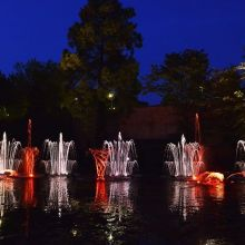 Les Fontaines Dansantes 2019 à Metz