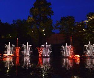 Les Fontaines Dansantes 2020 à Metz