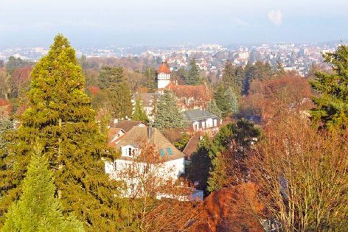 Les hauteurs de Mulhouse