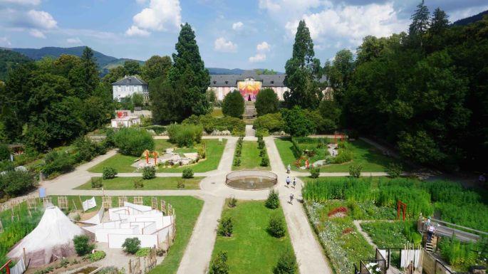 Les jardins originaux du parc de Wesserling