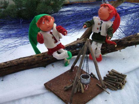 Les lutins sont à l\'honneur pour les fêtes de Noël à Pfastatt