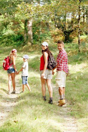 Les marches gourmandes sont l\'occasion de profiter de la nature en famille