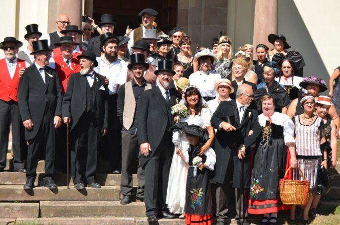 Les Mariés du Frankental à Stosswihr