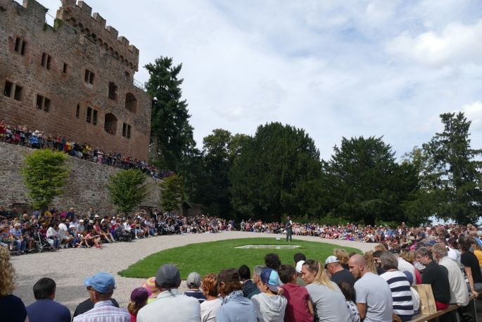 Les Médiév\'Ailes, Week-end médiéval au château de Kintzheim