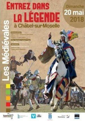 Les Médiévales 2018 de la Forteresse de Châtel-sur-Moselle