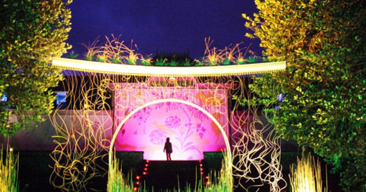 F erie nocturne au jardin du parc de wesserling 2016 for Jardin nocturne