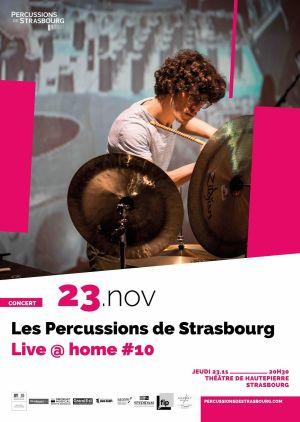 Les Percussions de Strasbourg : Live @ home #10