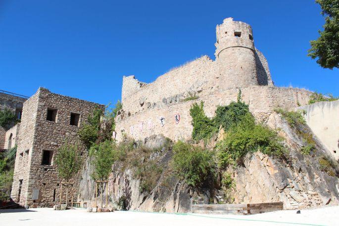Le Château du Hohlandsbourg vous ouvre les portes du temps...