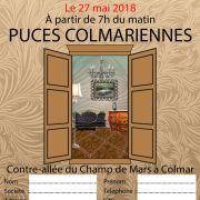 Les Puces Colmariennes 2018
