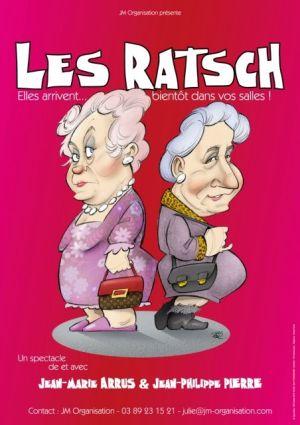 Les Ratsch, le nouveau spectacle de Jean-Marie Arrus et Jean-Philippe Pierre !