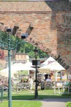 La Tour des Pêcheurs et son ambiance festive en été