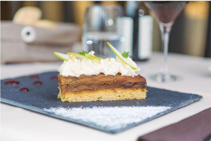 Un beau (et bon) dessert du Restaurant 3 Länder