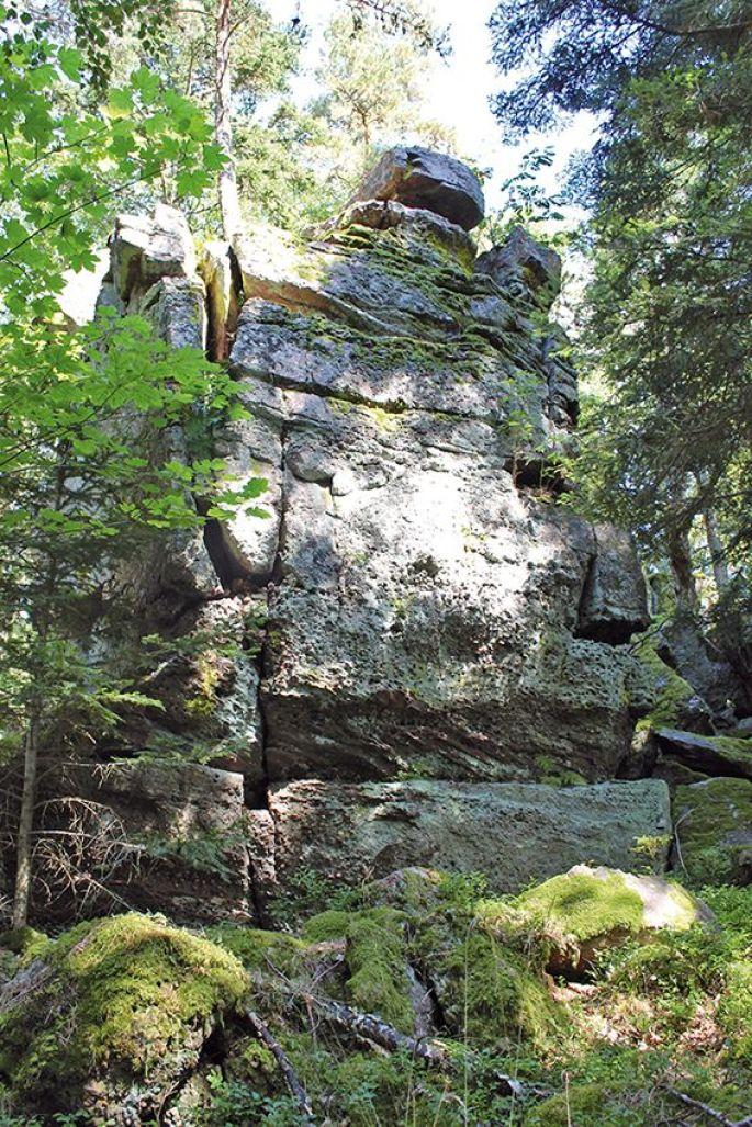 Le rocher des titans
