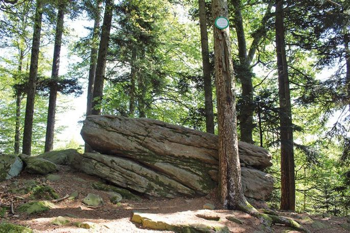 Le rocher de la paix d'Udine