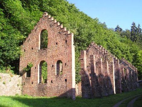 Les ruines de la forge des De Dietrich témoigne de l\'origine de la puissante famille