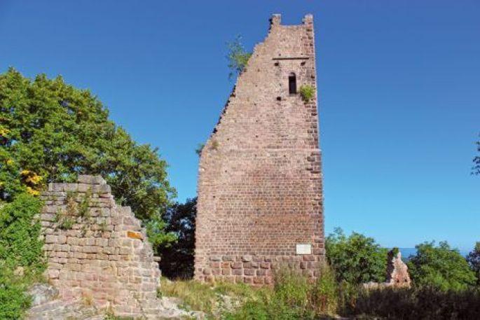 Les trois châteaux du Haut-Eguisheim à Husseren-les-Châteaux