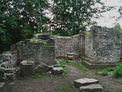 Les vestiges de la chapelle St Jacques sont rattachés à l\'histoire de Niedermunster