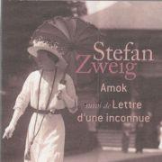 Lettre d\'une inconnue de Stefan Zweig