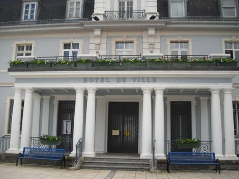 L\'hotel de ville de Cernay